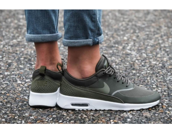 nike air thea groen dames