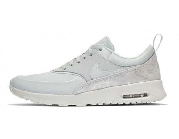 best website 198fb 7ea65 Bestel de Nike Air Max Thea Premium Dames Sneakers Pure Platinum Online Bij   Sportskoen.nl
