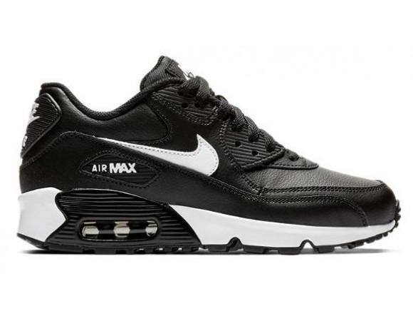 air max zwart leer