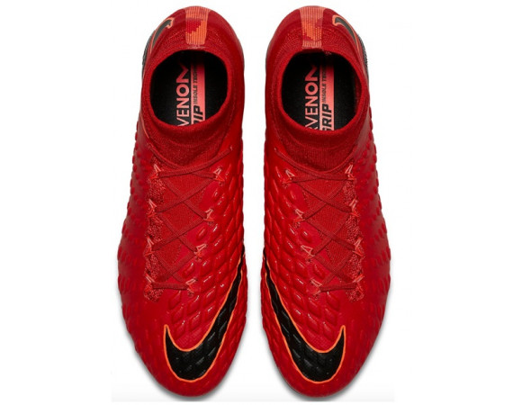 Bestel De Nike Hypervenom Phantom III Pro DF FG Rood Online