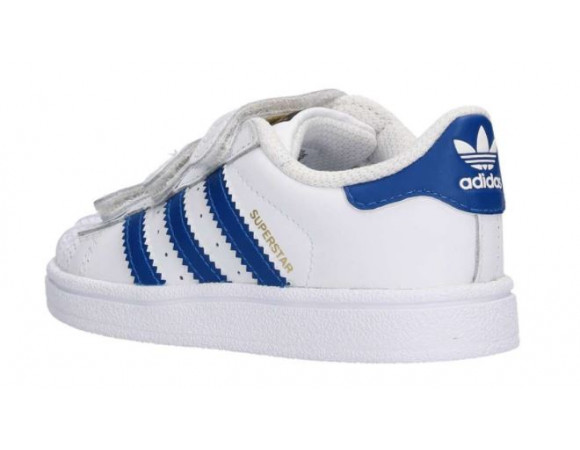 adidas superstars wit blauw