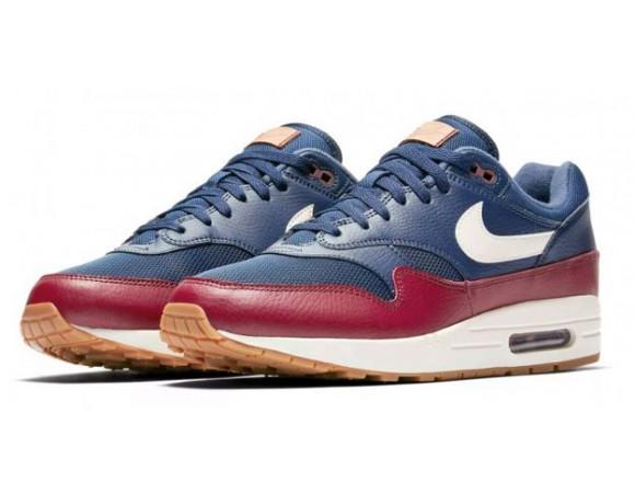 Bestel De Nike Air Max 1 Blauw Rood Online Bij | Sportskoen.nl