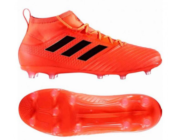 free shipping bc5fd 2800b Bestel de Adidas ACE 17.2 FG Solar Orange Core Black Online Bij   Sportskoen.nl