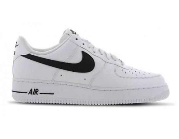 Bestel de Nike Air Force 1 Sneakers Laag Wit Zwart Online