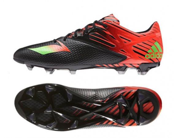 check out 8cfd0 f5897 Bestel De Adidas Messi 15.2 FG-AG Core Black Solar Voetbalschoenen Online  Bij  Sportskoen.nl