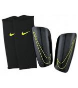 Nike Mercurial Lite Scheenbeschermers Zwart/Geel