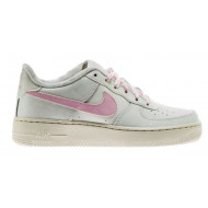 Nike Air Force 1 Laag Wit Roze