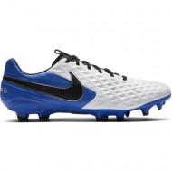 Nike Tiempo Legend 8 Pro FG Voetbalschoenen - Heren - Wit Blauw