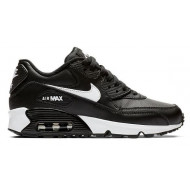 Nike Air Max 90 Leer Zwart Wit
