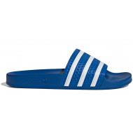 Adidas Adilette Slippers - Blauw Wit