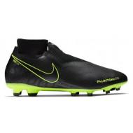 Nike Phantom Vision Pro DF FG Voetbalschoenen Zwart Volt