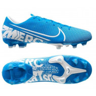Nike Mercurial Vapor 13 Academy FG Voetbalschoenen Blauw Wit