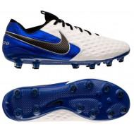Nike Tiempo Legend 8 Elite AG Voetbalschoenen Wit Zwart Blauw