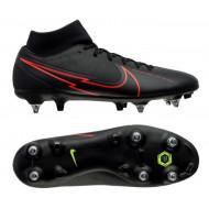Nike Mercurial Superfly Academy SG-Pro Voetbalschoenen - Heren - Zwart Rood