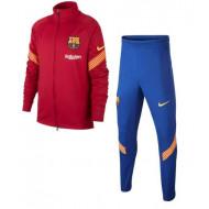 Nike FC Barcelona Trainingspak Dry Strike 2020-2021 Kids