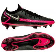 Nike Phantom GT Elite FG Voetbalschoenen - Heren - Zwart Zilver Roze