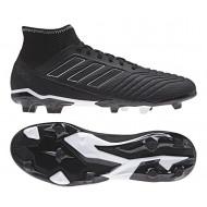 Adidas Predator 18.3 FG voetbalschoenen zwart wit
