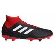 Adidas Predator 18.3 FG voetbalschoenen zwart rood