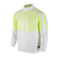 Nike Select Revolution Lightweight White Yellow Jacket