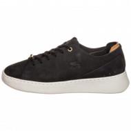 Lacoste Sneaker Zwart Leer