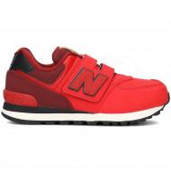 New Balance 574 Rood
