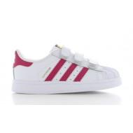 Adidas Superstar Foundation Junior Wit/Roze