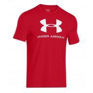 Under Armour Logo Sportshirt Rood