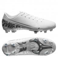 Nike Mercurial Vapor 13 Academy FG Voetbalschoenen Wit Kids