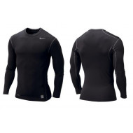 Nike Pro Core Compression Shirt LM Zwart
