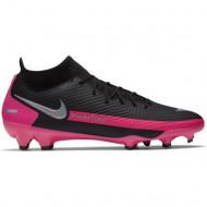 Nike Phantom GT Academy FG/MG Voetbalschoenen - Zwart Zilver Roze