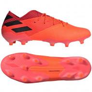 Adidas Nemeziz 19.1 FG Voetbalschoenen - Oranje Zwart