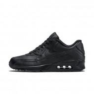 Nike Air Max 90 Sneakers Leer - Zwart