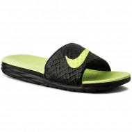 Nike Benassi Solarsoft Zwart Geel
