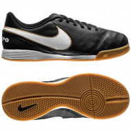Nike Tiempo Legend VI Indoor Junior Black Metallic Gold