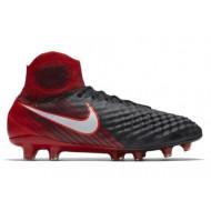 Nike Magista Obra II FG Zwart Rood