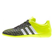 Adidas Ace 15.3 Core Black Yellow Indoor