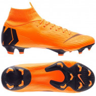 NIKE MERCURIAL SUPERFLY 6 PRO FG TOTAL ORANGE BLACK