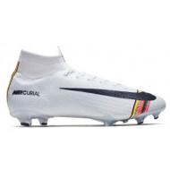 Nike Mercurial Superfly 6 Elite FG Wit Zwart