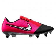 Nike Phantom Venom Elite DF SG Ijzeren Noppen Voetbalschoenen Roze Zwart