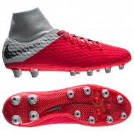 Nike Hypervenom Phantom 3 Academy DF AG Pro Grijs Rood