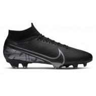 Nike Mercurial Superfly 7 Pro FG Voetbalschoenen Zwart Grijs
