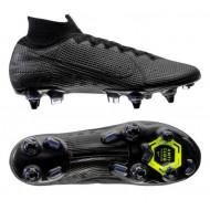 Nike Mercurial Superfly 7 Elite SG Voetbalschoenen Zwart Grijs