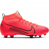 Nike Mercurial Superfly 7 Academy FG/MG Junior Roze