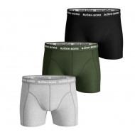 Bjorn Borg 3-Pack Boxershorts - Groen / Zwart / Grijs