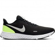 Nike Revolution 5 - Sneakers - Heren - Zwart/Wit/Geel