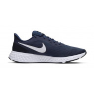 Nike Revolution 5 - Sneakers - Heren - Donkerblauw/Wit