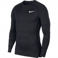 Nike Pro Longsleeve Shirt Zwart