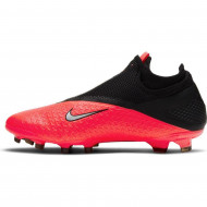 Nike Phantom VSN 2 Pro DF FG Voetbalschoenen Roze Zwart