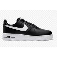Nike Air Force 1 Sneakers Laag Zwart Wit