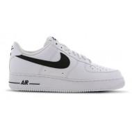 Nike Air Force 1 Sneakers Laag Wit Zwart